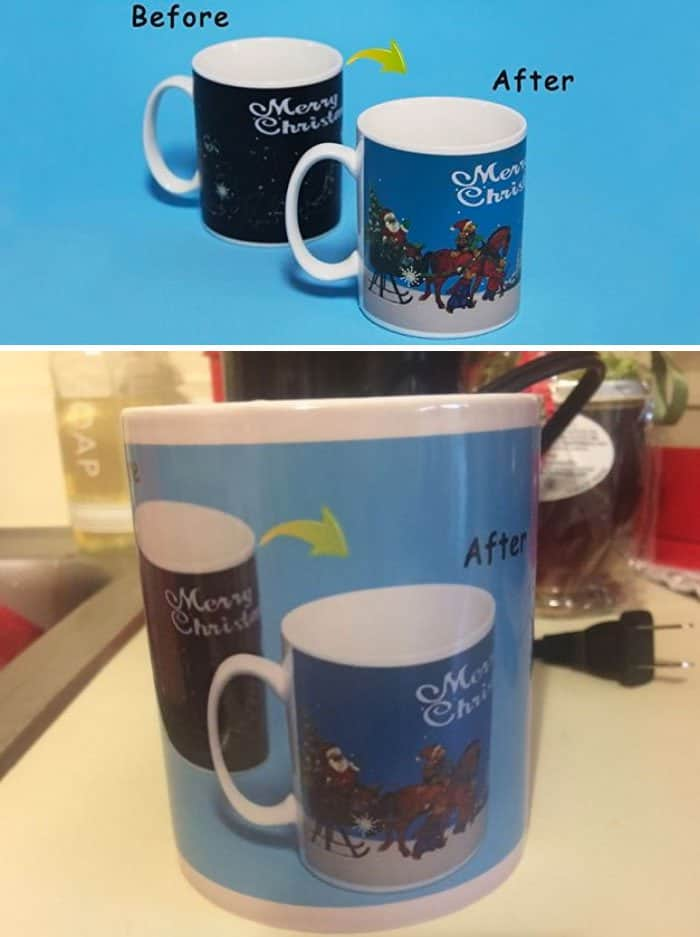 Christmas Design Fails mug disaster