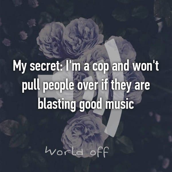 Confessions From Police Officers blasting good music