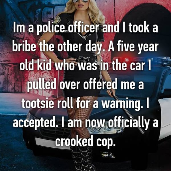 Confessions From Police Officers crooked cop