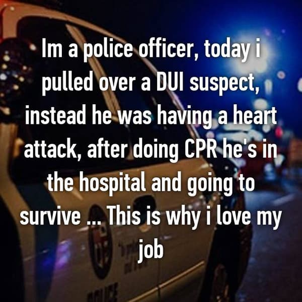 Confessions From Police Officers heart attack