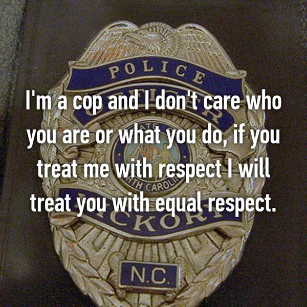 Confessions From Police Officers respect