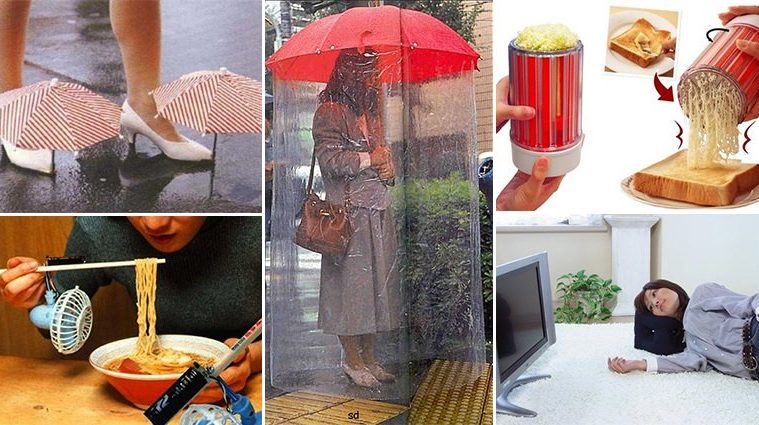 Crazy Inventions From Japan That Are Borderline Genius