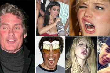 Drunk Celebrities Who'll Make You Think Twice About Overindulging