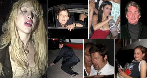 Drunken Celebrity Photos That Will Make Your Hungover Self Feel A Little Better
