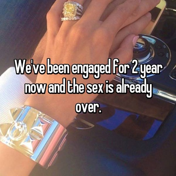 Engaged Forever No Wedding already over