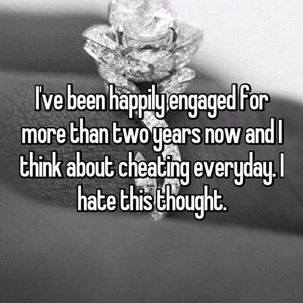 Engaged Forever No Wedding cheating