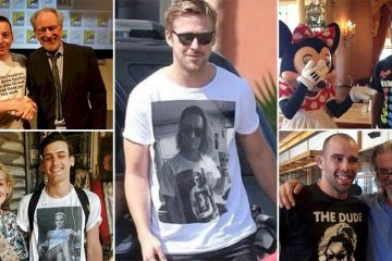 Fan Tshirts That Grabbed Attention From Celebrities