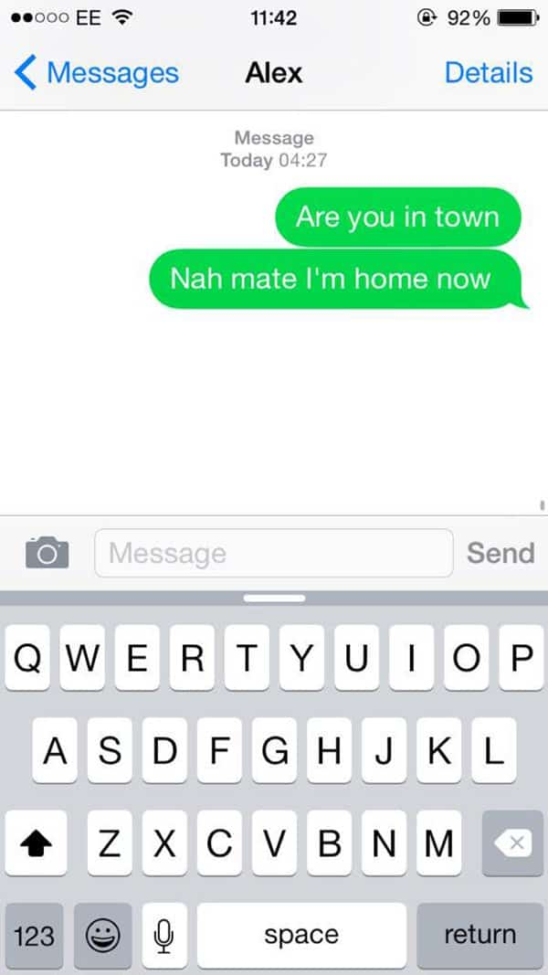 15 Funny Drunk Texts People Have Sent Whilst Intoxicated