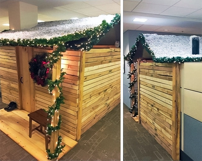 Funny Office Employees grotto