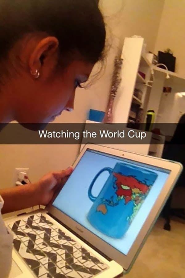 Genius And Amusing Puns watching the world cup
