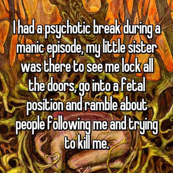 Having A Psychotic Break manic episode