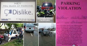 Hilarious Images Of Irate Drivers Getting Their Parking Revenge