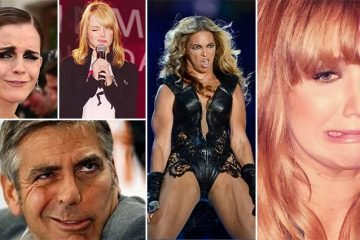 Hilarious Photos That Show Celebrities Don't Always Look Picture Perfect