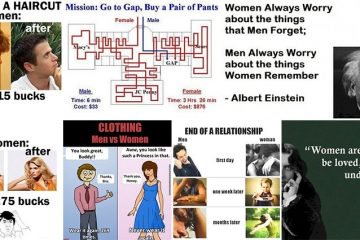 Images That Show Why Men And Women Will Never Understand Each Other