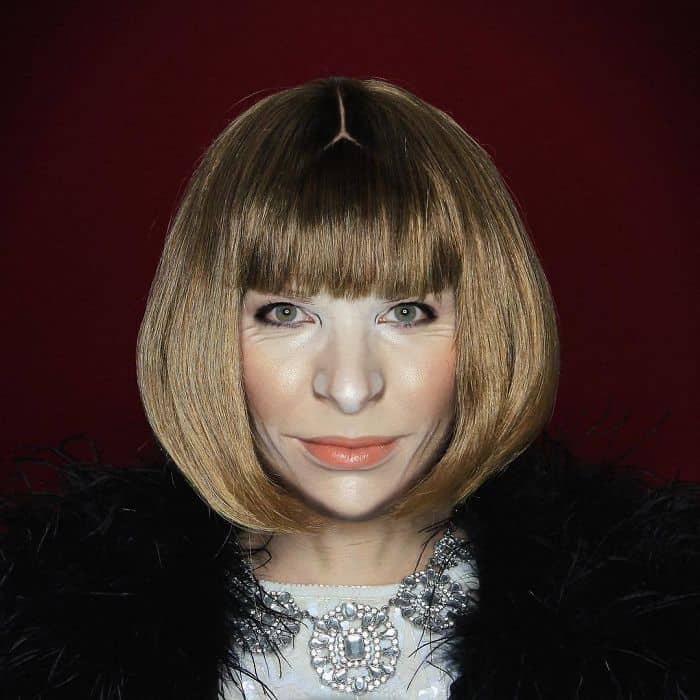 Make Up Artist Can Transform Into Any Celebrity anna wintour