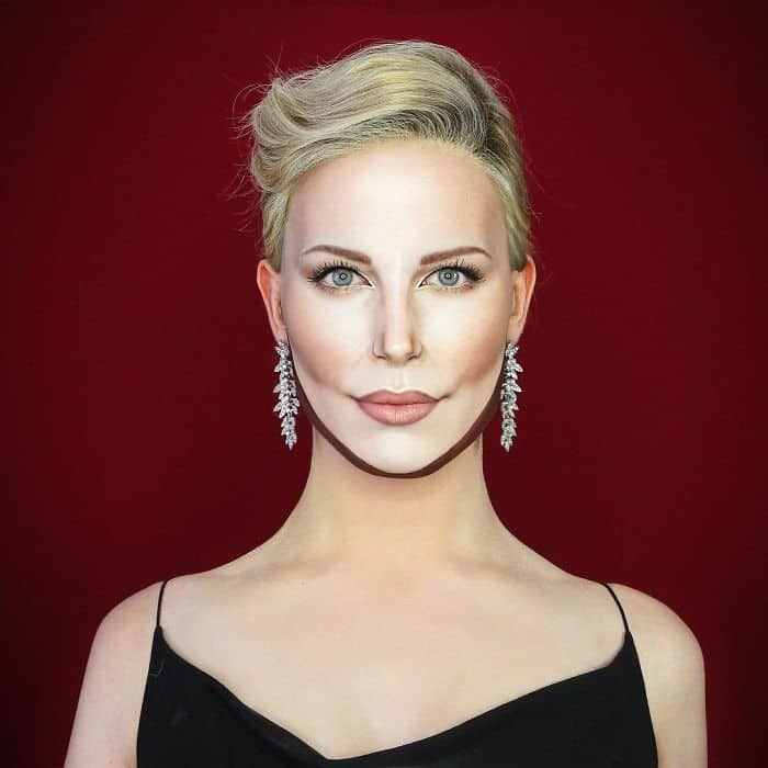 Make Up Artist Can Transform Into Any Celebrity charlize theron