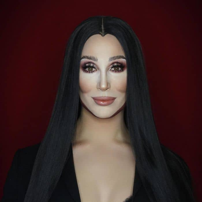 Make Up Artist Can Transform Into Any Celebrity cher