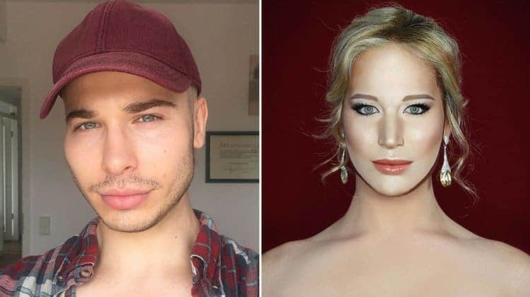 Make Up Artist Can Transform Into Any Celebrity