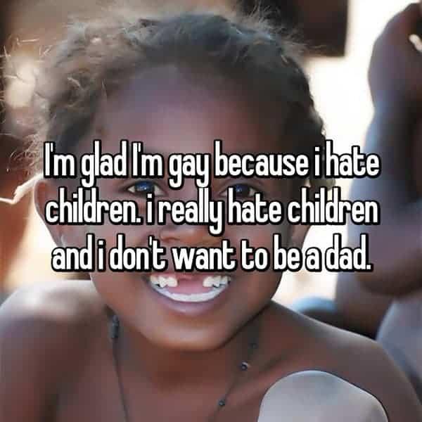 Men That Do Not Want Kids hate children