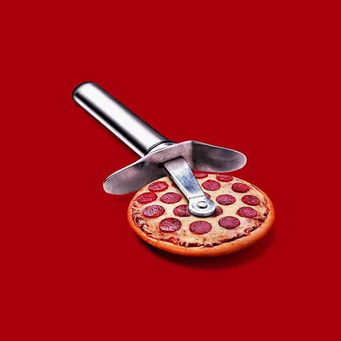Mind Boggling Images unexpected objects pizza cutter