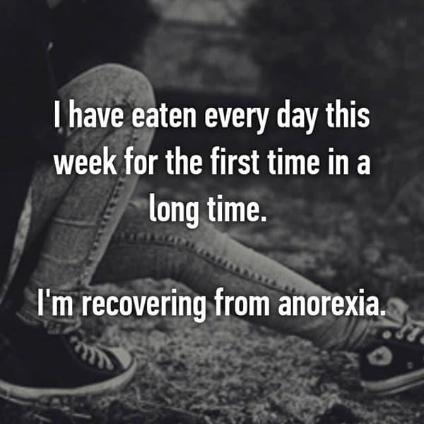 People Battling Eating Disorders long time