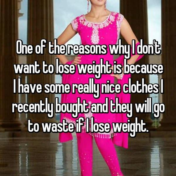 People Who Are Overweight clothes go to waste
