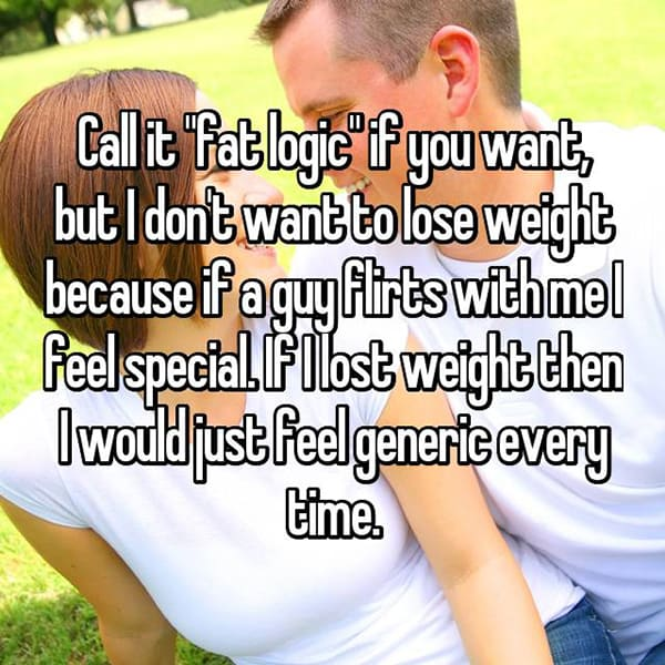 People Who Are Overweight feel special