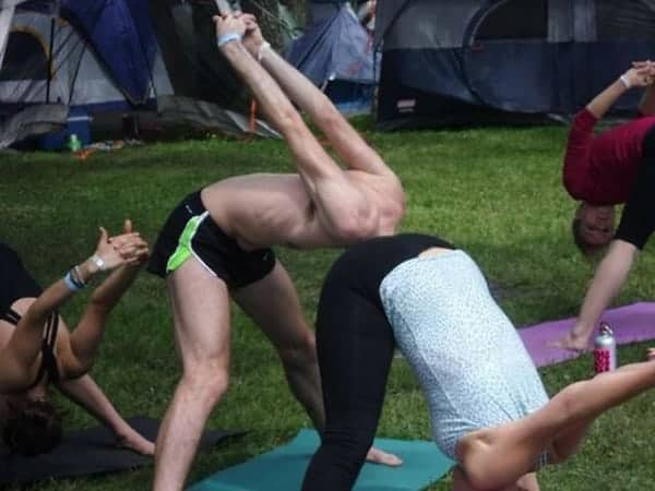 Perfectly Timed Photos head in bottom yoga