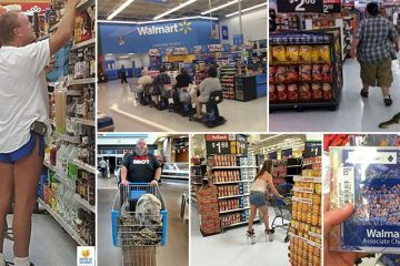 Photos Showing The Strange Things That Happen In Walmart
