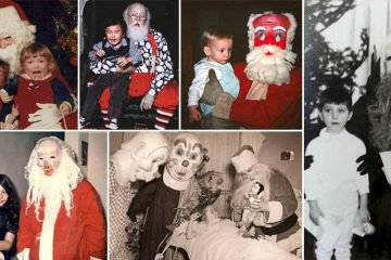 Scary Santas You Would Rather Avoid Visiting This Christmas