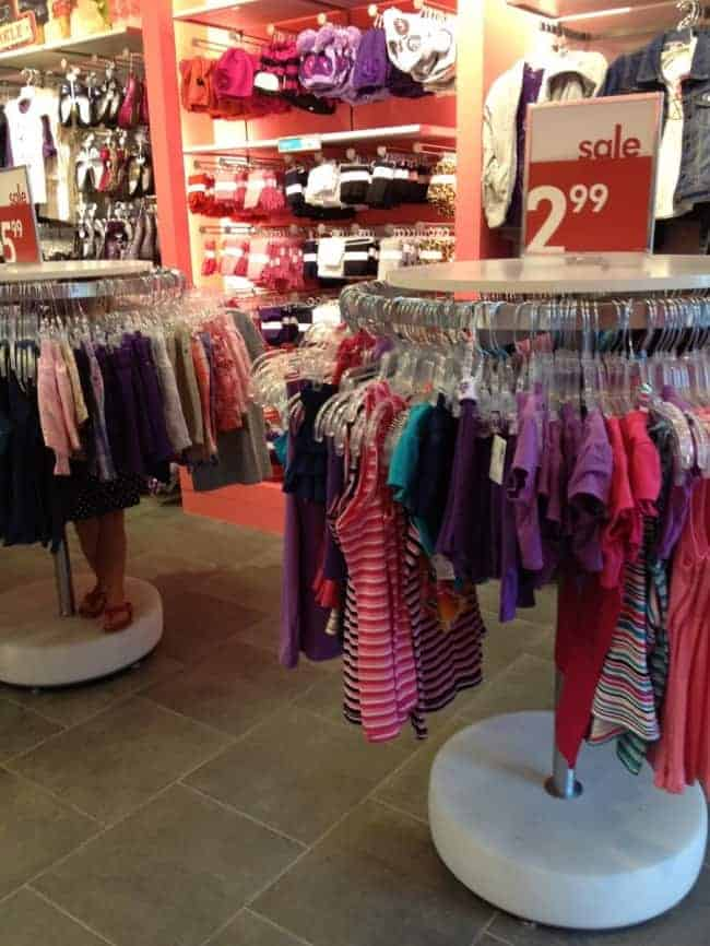 The Joys Of Shopping With Kids hide and seek
