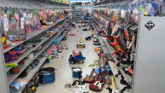 The Joys Of Shopping With Kids toy aisle