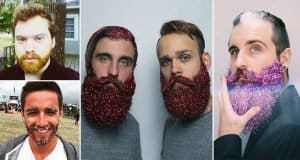 These Glitter-Beards Are Totally On Trend For The Holidays