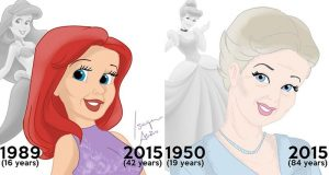 This Is What Disney Princesses Would Look Like All Grown Up