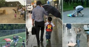 Times That Dads Heroically Saved The Day