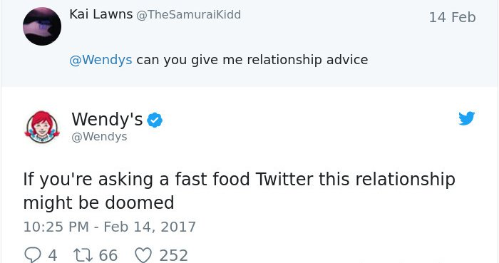 Twitter Roasts By Wendy's doomed