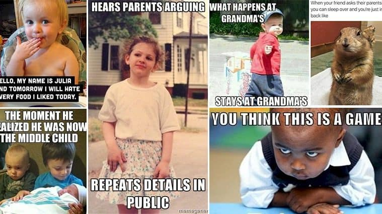 Typical Kid Moments That All Parents Dread