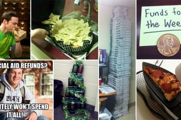 Ways The Struggle Is Real For Broke College Students