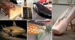 Weird And Wonderful Coffins For Those Who Want To Be Different