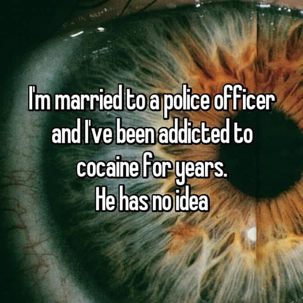 What It's Like To Be The Wife Of A Cop addicted