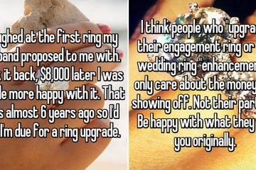 Women Upgrading Their Engagement Rings