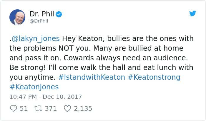 boy-cries-due-to-nasty-bullies-keaton-jones dr phil