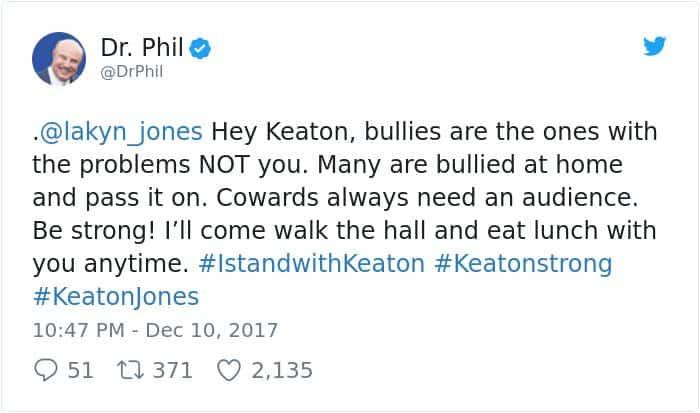 boy-cries-due-to-nasty-bullies-keaton-jones dr phil