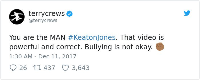 boy-cries-due-to-nasty-bullies-keaton-jones terry crews