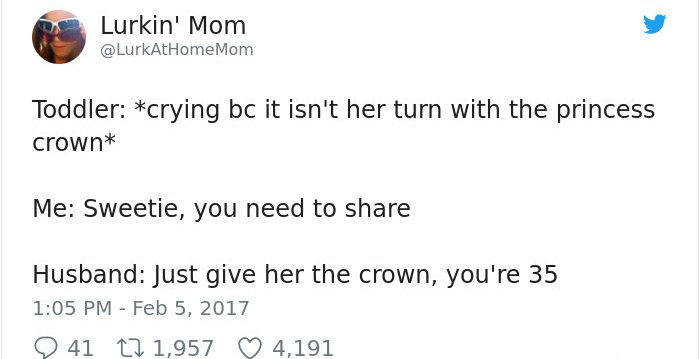 funny-tweets-about-marriage just give her the crown