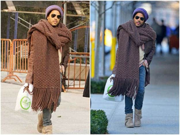 man-wearing-a-huge-scarf