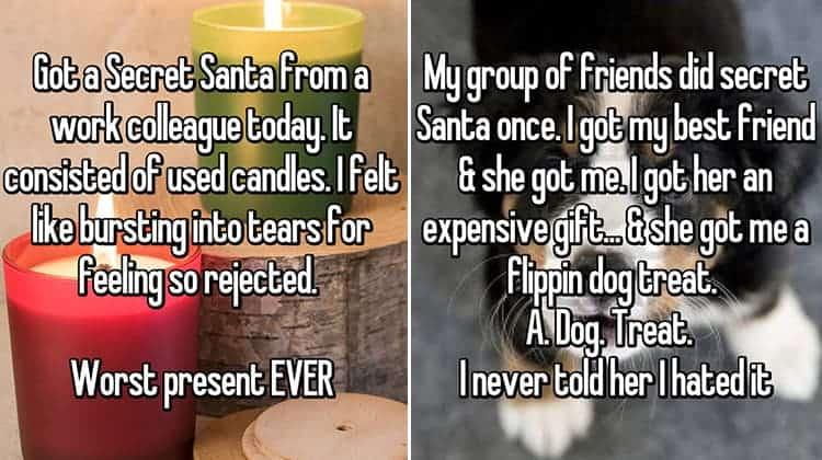 terrible secret santa gifts