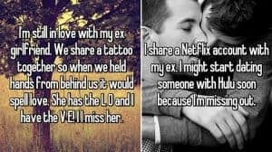 things people Share With Their Exes