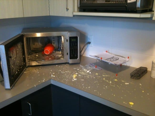 Advice From The Internet Fails boiled egg microwave