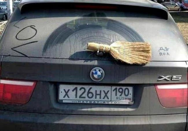 Advice From The Internet Fails broom wiper blade